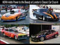 NDRA Adds Power to the Beauty at London's Classic Car Cruz-In